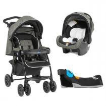 Carrinho de Bebê Chicco e Bebê Conforto Kit Duo Today com Base - Tecna - Chicco