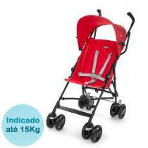 Carrinho de Bebê Chicco - Snappy - até 15kg - Fire - Neutra - Chicco
