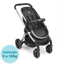 Carrinho de Bebê Chicco Urban - Black - Neutra - Chicco