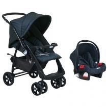 Carrinho de Bebê e Bebê Conforto Burigotto - Evolution Reclinável para Crianças até 15kg