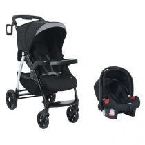 Carrinho de Bebê e Bebê Conforto Burigotto - Tempus Aretam para Crianças até 15kg