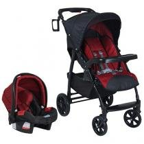 Carrinho de Bebê e Bebê Conforto Burigotto - Tempus Atimo para Crianças até 15 kg