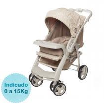 Carrinho de Bebê Galzerano Optimus - Bege - Neutra - Galzerano