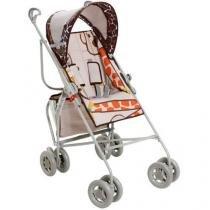 Carrinho de Bebê Passeio Galzerano Girafa - para Crianças até 15kg
