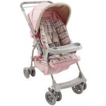 Carrinho de Bebê Passeio Galzerano Milano Reclinável 4 Posições Bandeja até 15Kg