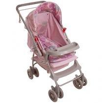 Carrinho de Bebê Passeio Galzerano Milano - Reversível Bolas para Crianças até 15kg
