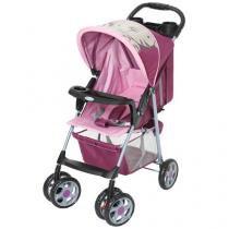 Carrinho de Bebê Passeio Galzerano Veneto Tigrinha - Reclinável 3 Posições com Bandeja até 15Kg