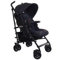 Carrinho de Bebê Passeio Mini Buggy Black Jack - com Bandeja para Crianças com até 15Kg