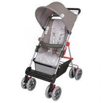 Carrinho de Bebê Passeio Tutti Baby Damiano - Reclinável 4 Posições p/ Crianças até 15kg