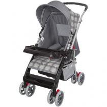 Carrinho de Bebê Passeio Tutti Baby Thor - Reversível com Bandeja para Crianças até 15kg