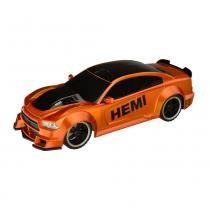 Carrinho de Controle Remoto 1:18 XQ Dodge Charger BR457 - Multikids - Multikids