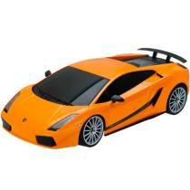 Carrinho de Controle Remoto 1:18 XQ Lamborghini Aventador BR443 - Multikids - Multikids