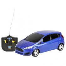Carrinho de Controle Remoto Ford Fiesta CKS - 07 Funções -