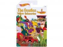 Carrinho Hot Wheels Morris Mini - The Beatles Yellow Submarine - Mattel