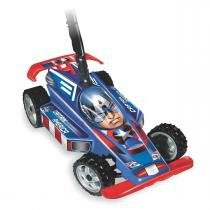 Carrinho Infantil Hand Car do Capitão América Avengers 2311 - Líder - Lider Brinquedos