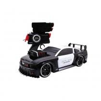 Carro Controle Remoto Battle Machines Mustang Police - Candide - Candide