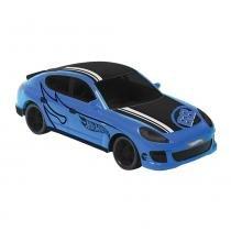 Carro Controle Remoto Rocket Hotwheels Azul - Candide - Candide