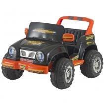 Carro Infantil Jeep Desert 6V Preto/Laranja 246 - Biemme - Biemme