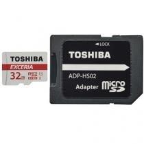 Cartão de Memória 16GB Micro SDHC Classe 10 - com Adaptador Toshiba