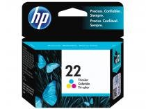 Cartucho de Tinta HP Colorido 22 Original