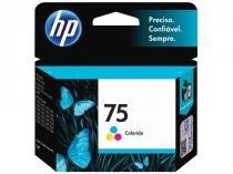 Cartucho de Tinta HP Colorido - 75