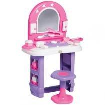 Casinha Brinquedo Penteadeira Infantil Miss Glamour Calesita 0320 - Calesita