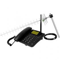 Celular Fixo Intelbras CFA 4012 Viva-Voz GSM - Identific. de Chamadas e Envio/Receb. de Msg
