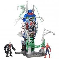 Cenário Playset Web City Homem Aranha Marvel B7198 - Hasbro - Hasbro