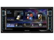 "Central Multimídia Kenwood DDX715WBT LCD 6,95"" - USB Bluetooth Auxiliar"