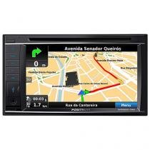 Central Multimídia Pósitron SP8920NAV LCD 6,2?? - Touch TV Entrada para Câmera de Ré Bluetooth USB