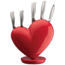 Cepo Coração para 5 Facas ABS - Vice Versa