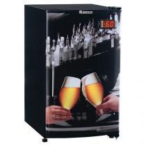 Cervejeira/Expositor Vertical 1 Porta - 112L Frost Free Gelopar GRBA 120B