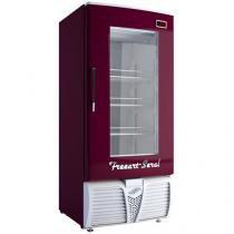 Cervejeira/Expositor Vertical 1 Porta 320L - Freeart Seral EVFS C320CW - Vinho e Branco