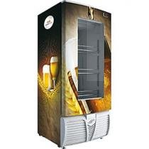 Cervejeira/Expositor Vertical 1 Porta 320L - Freeart Seral Plug-in EVFS C320CW2