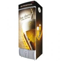 Cervejeira/Expositor Vertical 1 Porta 470 Litros - Freeart Seral Plug-in EVFS C470CT