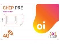 Chip Oi 3 em 1 Pré - DDD 54 RS Tecnologia 4G