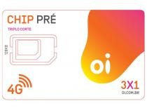 Chip Oi 3 em 1 Pré - DDD 83 PB Tecnologia 4G