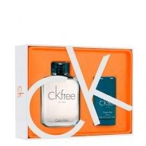 Ck Free For Men Eau de Toilette Calvin Klein - Kit de Perfume Masculino 100ml + Desodorante 75g - Calvin Klein
