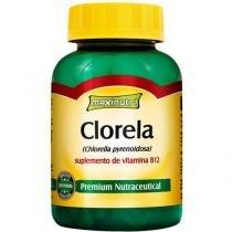 Clorela 400mg 60 Cápsulas - Maxinutri