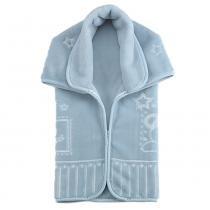 Cobertor Baby Sac Premium Relevo Ursinho Mensageiro Azul - Colibri - Colibri