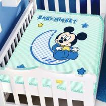 Cobertor Disney Baby Mickey Verde  - Jolitex - Jolitex