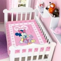 Cobertor Infantil Disney Minnie Brincando - Jolitex - Minnie - Jolitex