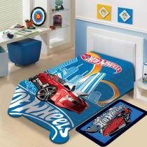 Cobertor Infantil Hot Wheels - Jolitex - Hot Wheels - Jolitex