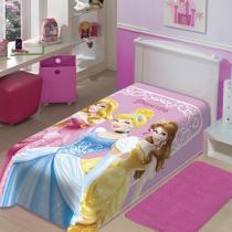 Cobertor Juvenil Raschel Princesas - Jolitex - Princesas - Jolitex