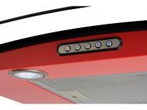 Coifa de Parede Nardelli Inox 75cm com Vidro Curvo - 3 Velocidades Slim RED 110V