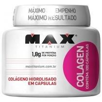 Colagen 100 Cápsulas - Max Titanium - Natural - Max Titanium