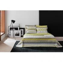 Colcha/Cobre-Leito Solteiro Santista Home Design - Yve 2 Peças 100% Algodão