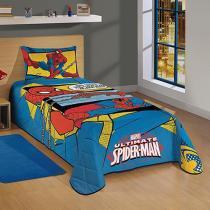 Colcha Infantil 1 Peça - Lepper Disney Ultimate Spider-Man