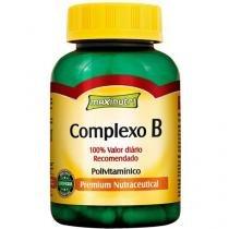 Complexo B 60 Cápsulas - Maxinutri