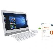 Computador All In One Acer Aspire Z1 - Intel Quad Core 4GB 500GB + Office 365 Personal